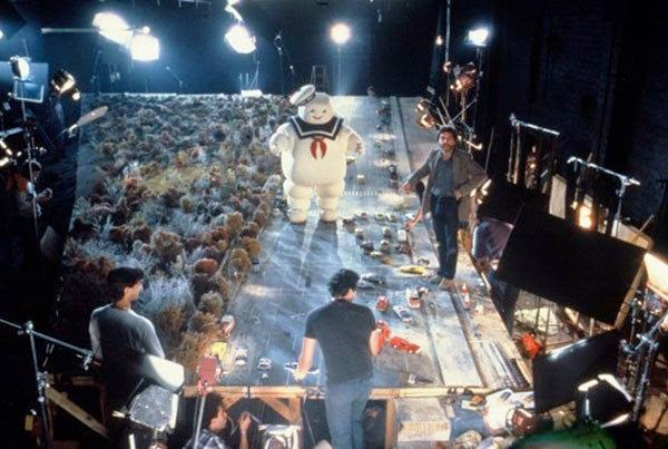 Ghostbusters behind the scenes