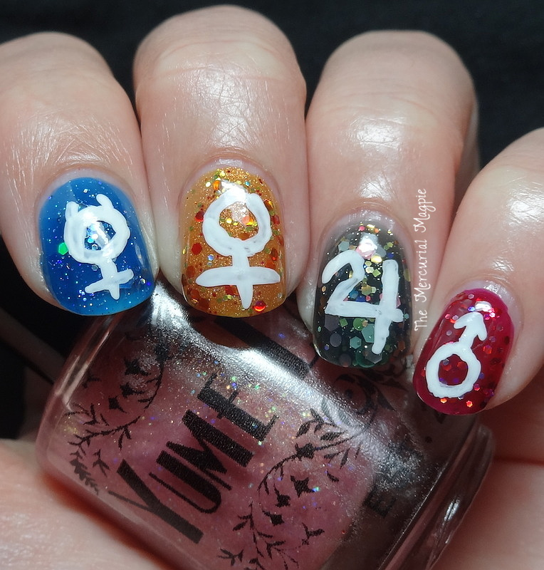 The Lacquer Legion Fandom Theme (Two Sailor Moon themed nail looks!)