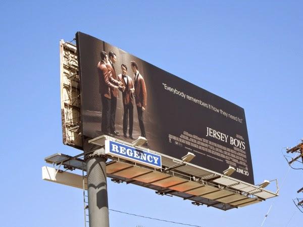 Jersey Boys film billboard