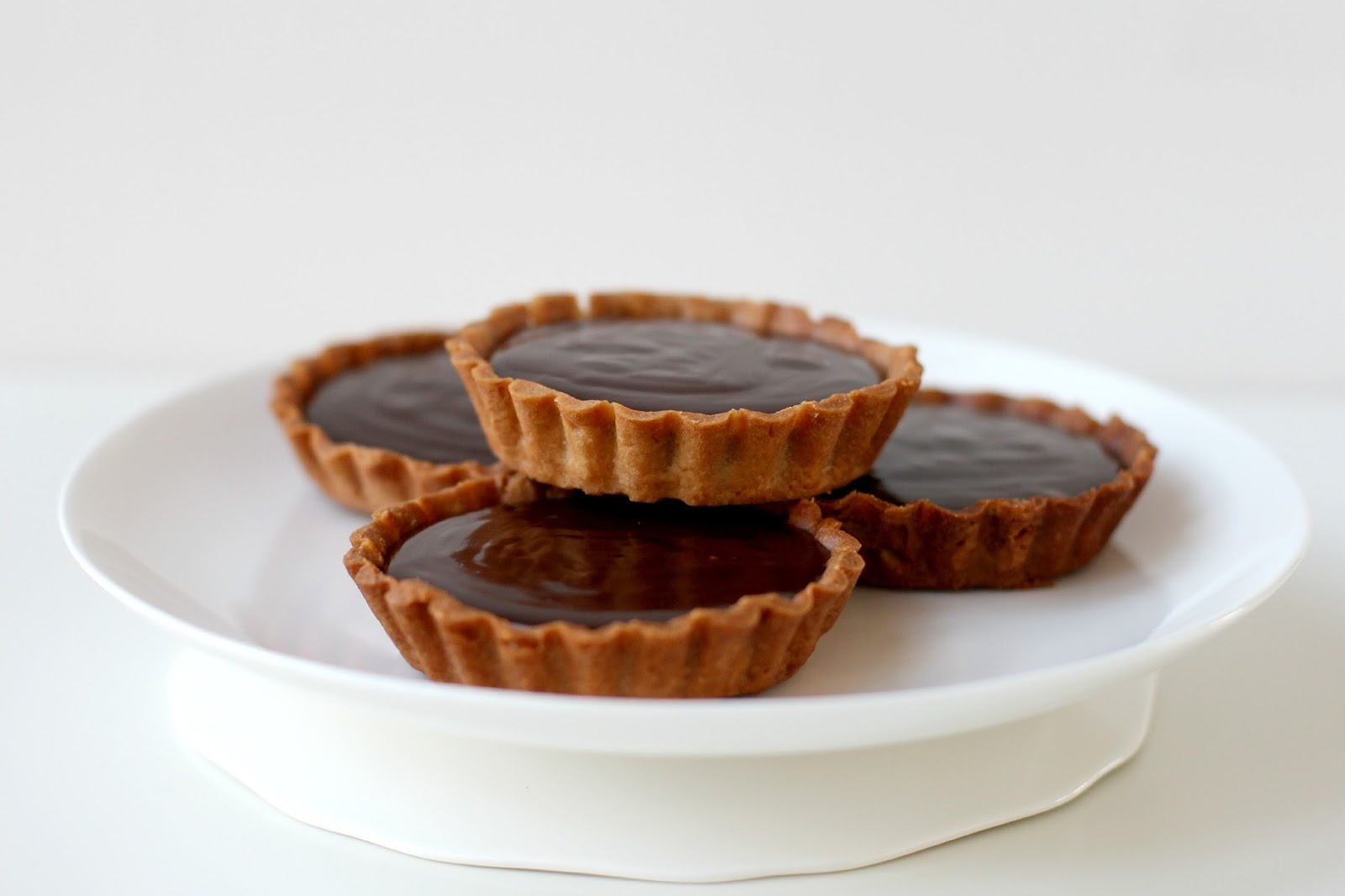 Milk and Honey: Chocolate Ganache Tarts