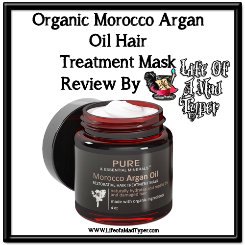 Organic Morocco Argan Oil Hair Treatment Mask Review