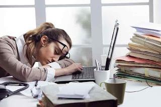 hat-hati, lelah dapat menyebabkan demam