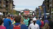 Just in time to cheer on the 468 marathon runners starting their adventure. (cda half marathon )