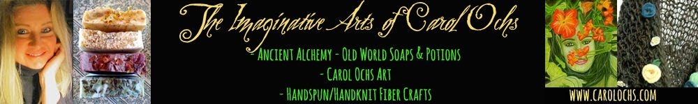 Carol Ochs Arts: Ancient Alchemy, Carol Ochs Art, & Fiber Crafts!