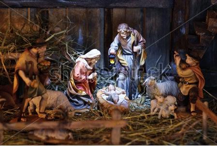 Maronite Blogger: The First ever Nativity Scene