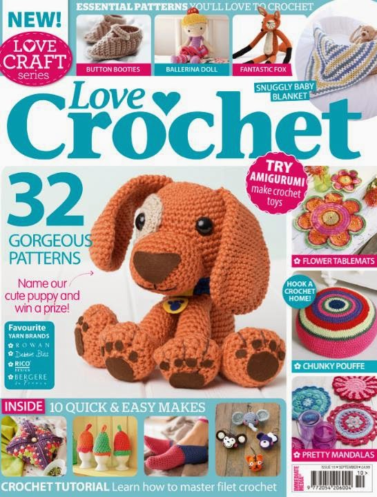 .Love crochet dog