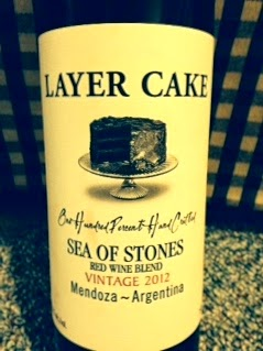 Layer Cake Sea of Stones Red Wine Blend bottle