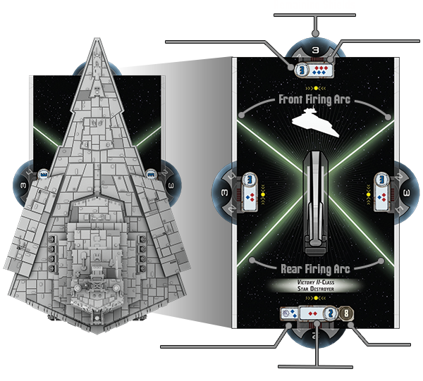 Star Wars Armada star destroyer