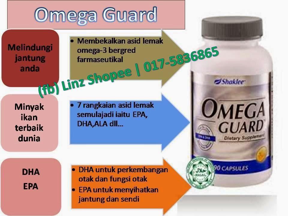 kebaikan omegaguard shaklee