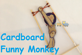 Homemade toys - Funny Swinging Monkey