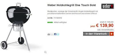 Weber Grill-Schnäppchen im ADAC-Shop (Achtung schnell sein, Restposten!!!)