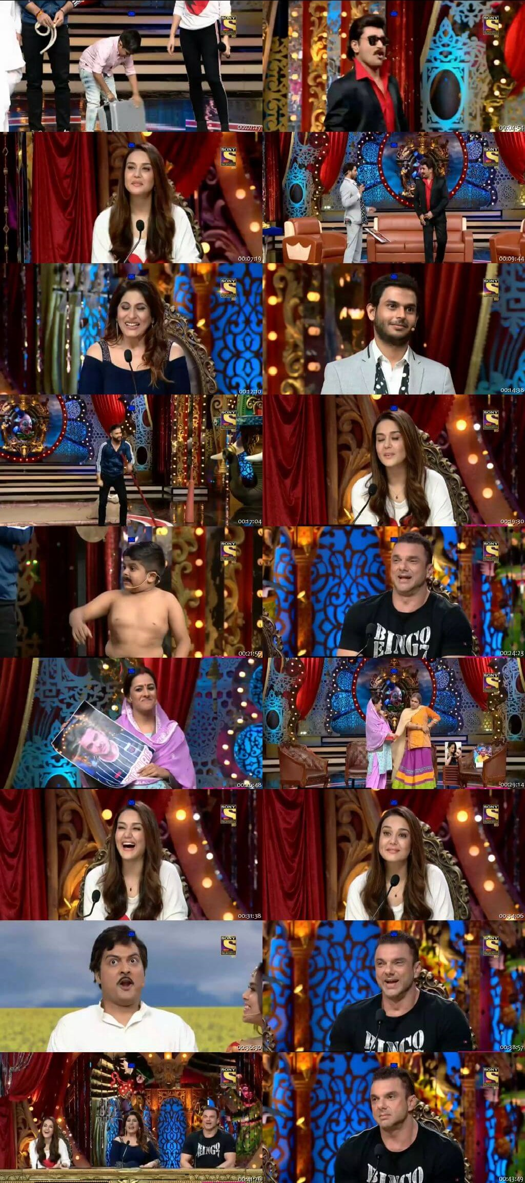Screen Shot Of Comedy Circus 17th November 2018 Episode 19 300MB Watch Online