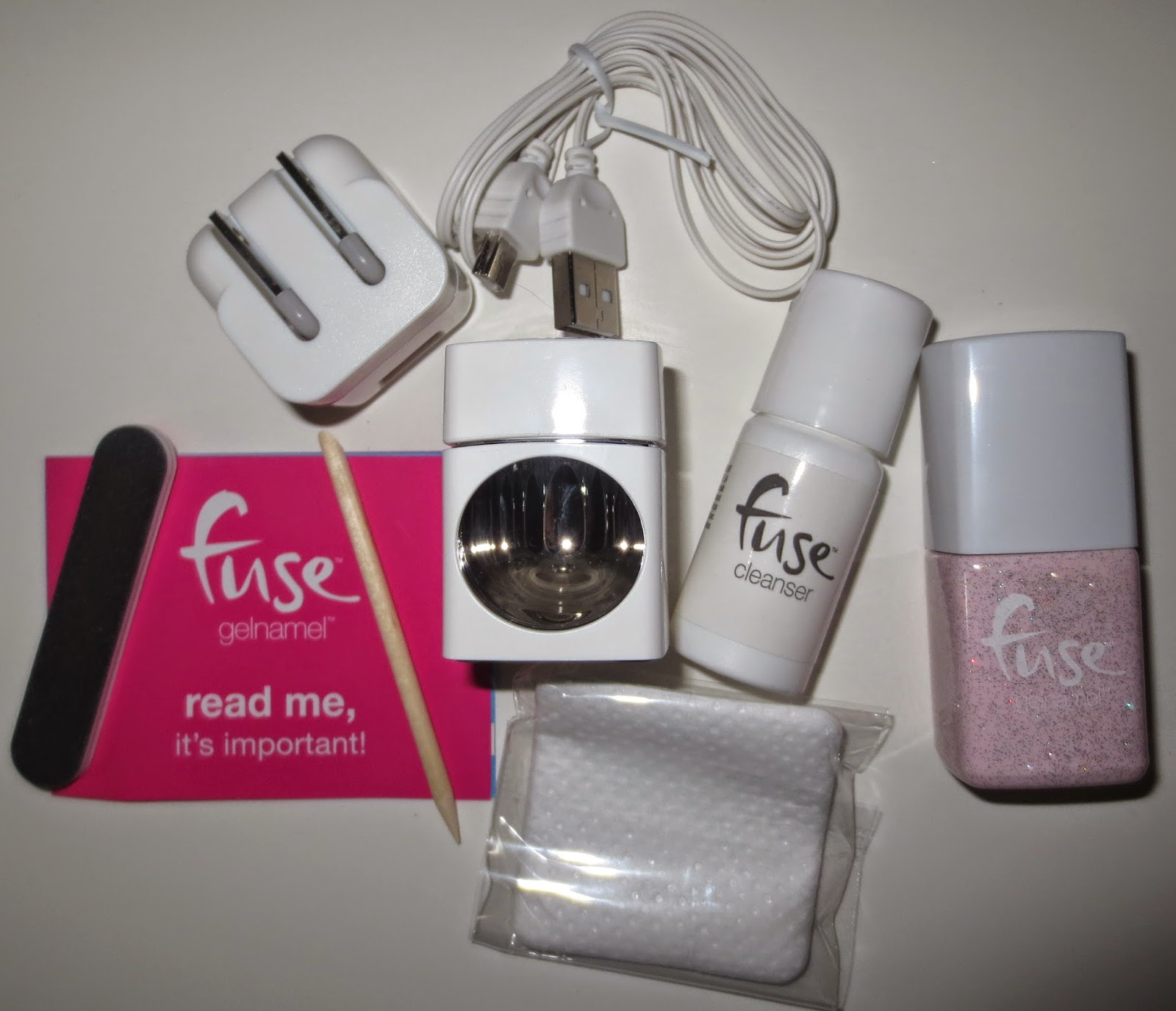 FUSE Gelnamel by SensatioNail Starter Kit