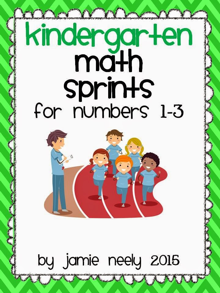 https://www.teacherspayteachers.com/Product/Kindergarten-Math-Sprints-for-Numbers-1-3-1684679