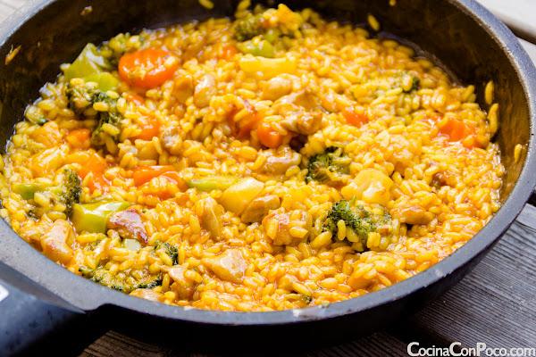 Pimientos rellenos de arroz - receta paso a paso