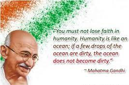 gandhi quotes for students