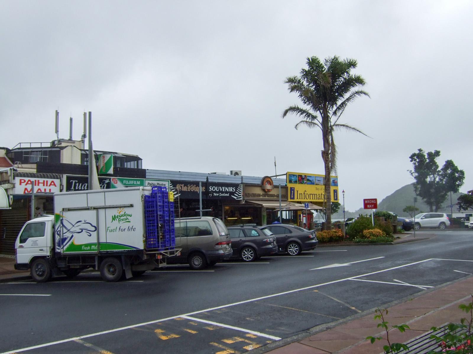 パイヒア,ショップ,駐車場,NZ〈著作権フリー無料画像〉Free Stock Photos