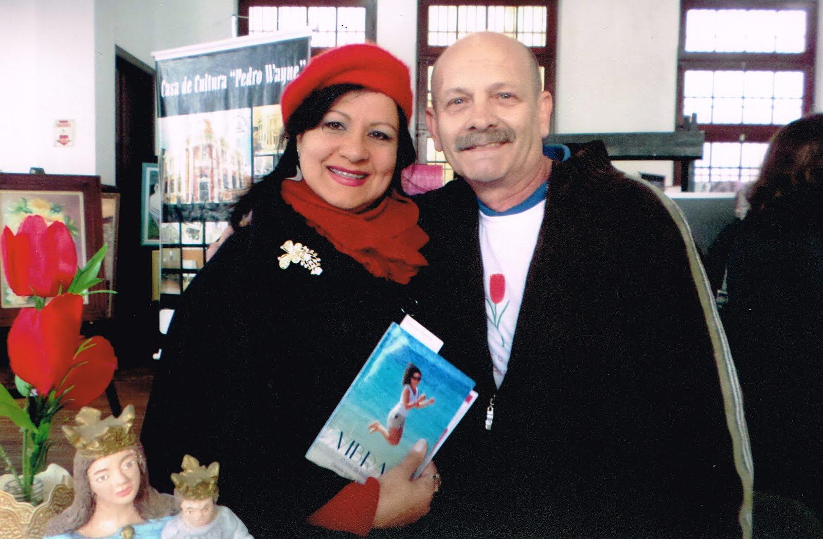 Tânia Moura e Manoel Ianzer