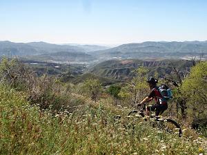 Paisajes de Nevada desde la bici
