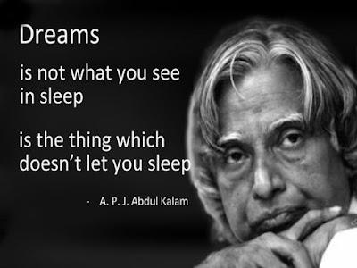 Dr. A.P.J Abdul Kalam life Quotes