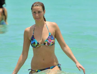 Whitney Port in Bikini at a Miami Beach