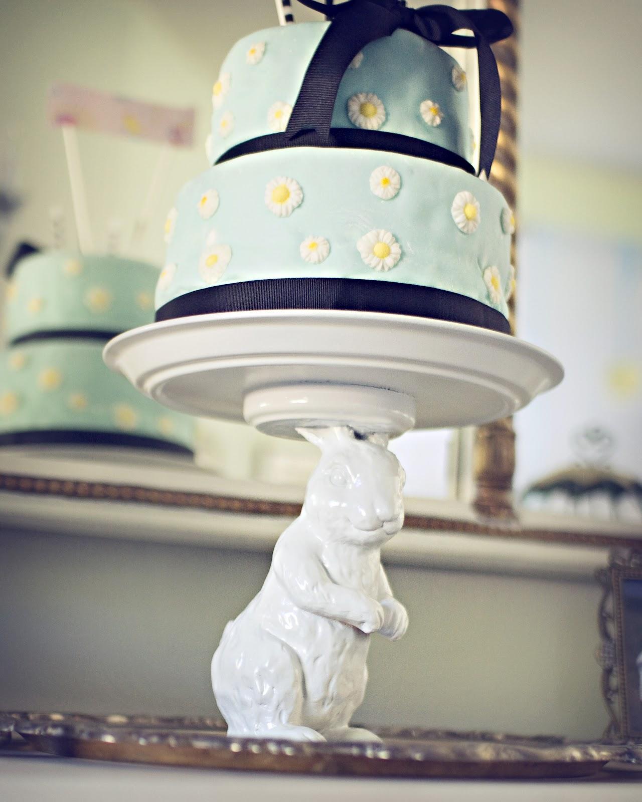 Pottery Barn Bunny Cake Stand