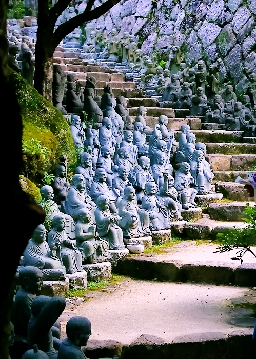 Kyoto Japan  city photos gallery : Statue Stairs, Kyoto, Japan | A1 Pictures
