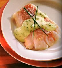 Bacalao Fresco con Salsa de Mostaza