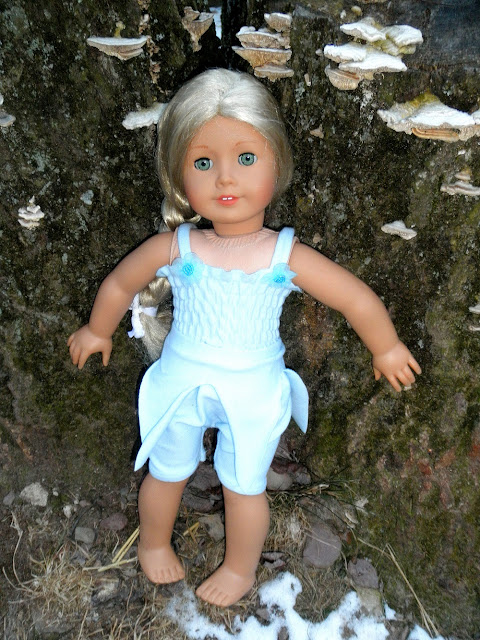 Fairy costume for 18 inch doll like American Girl