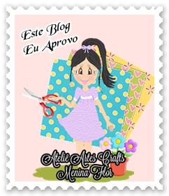 Atelie artes crafts Menina Flor - Dicas para blogs