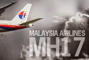 Pesawat MH17 Ditembak Jatuh