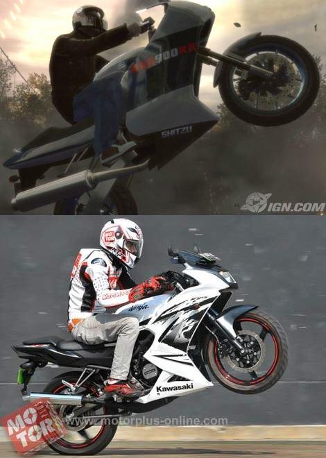 Kembaran Kawasaki Ninja 150RR 2013 ada di GTA IV ?