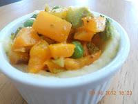 vegetable spicy choux