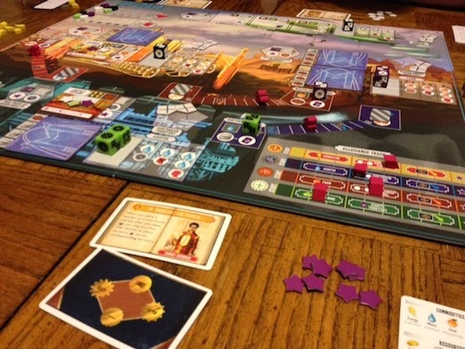 Another picture of the Euphoria board game