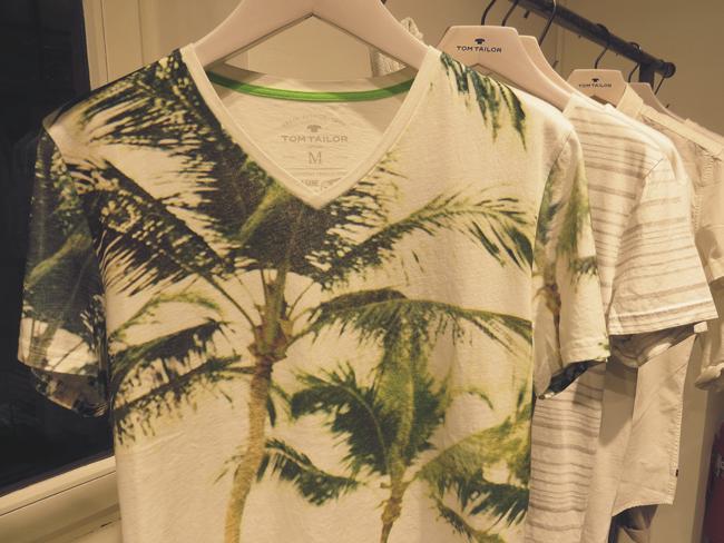 Tom Tailor T-Shirt Palmen