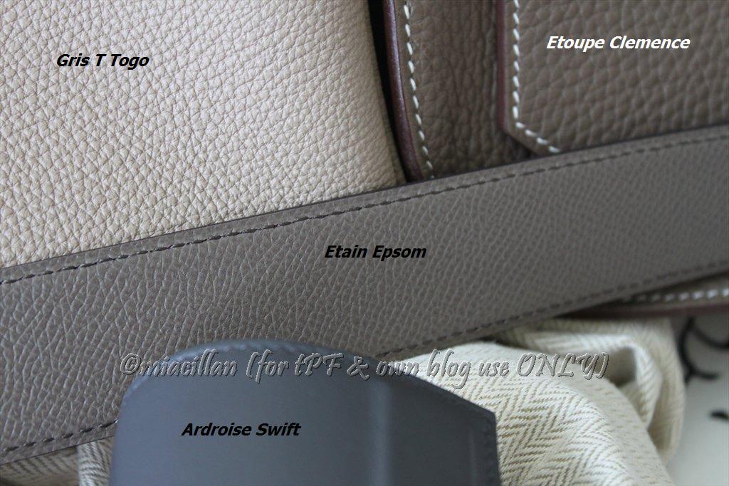 etain grey birkin 35 hermes limited edition