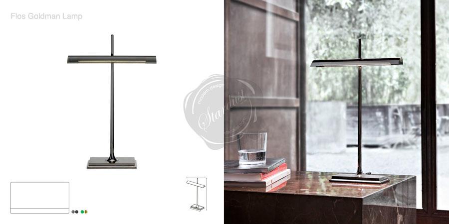 modern interior design Goldmans Table Lamp by Flos Lighting – Flos Desk Lamp
