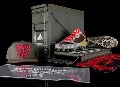 adidas presenta los nuevos botines camuflados de Robert Griffin III