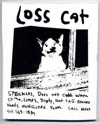 Loss cat, by R. Land