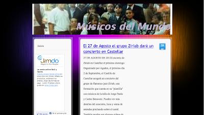 Directorio Musical para agregar tu web, blog, banda, orquesta... www.directoriopax.com Agrega tu blog!