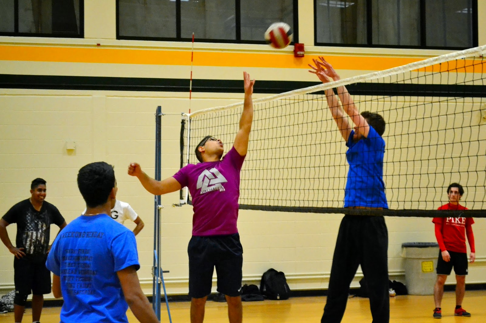 Volleyball at UAlberta (intramurals)