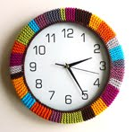 Free pattern: Clock Cozy