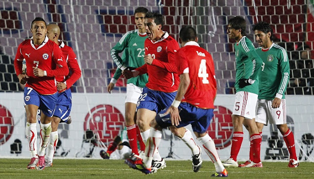 Chile vs Mexico en vivo