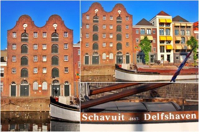 Delfshaven en Rotterdam – De Dubbelde Palmboom