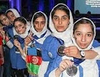 دختران رباتیک،برنده مدال نقره شجاعت،جایزه الهام،جایزه ستاره تازه وارد و