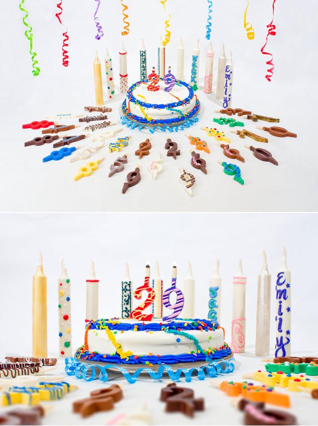 velas comestíveis