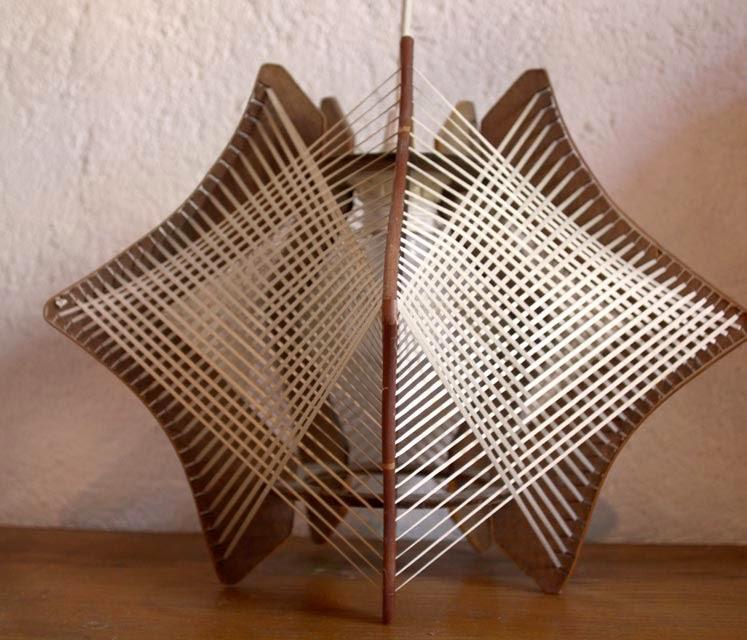chicbaazar objets vintage 50 60 70 lustre fil scandinave. Black Bedroom Furniture Sets. Home Design Ideas