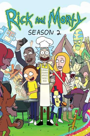Rick and Morty 2ª Temporada Torrent – BluRay 720p/1080p Dual Áudio
