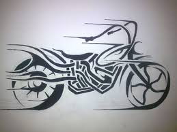 Motif Tato Biker 14