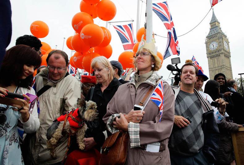 Royal Wedding Super Fans